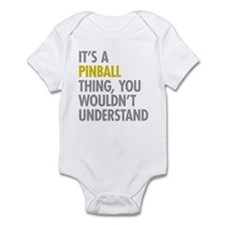 Its A Pinball Thing Infant Bodysuit