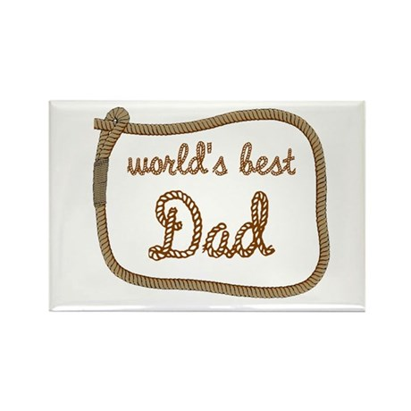 Best Dad Rectangle Magnet (100 pack)