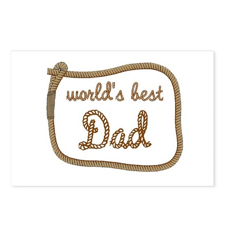 Best Dad Postcards (Package of 8)