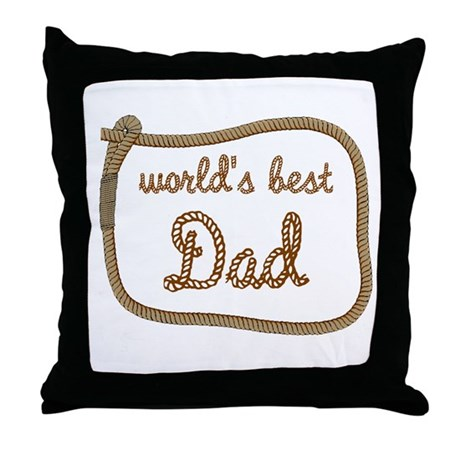 Best Dad Throw Pillow