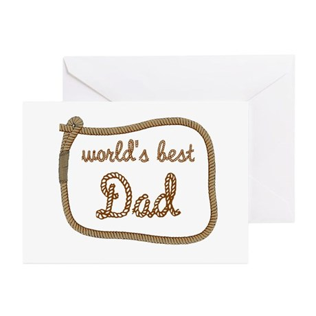 Best Dad Greeting Cards (Pk of 10)