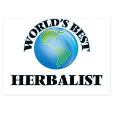 World's Best Herbalist Invitations