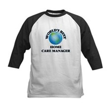 World's Best Home Care Manager Baseball Jersey