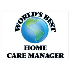 World's Best Home Care Manager Invitations