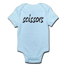 Cute Rock paper scissors Infant Bodysuit