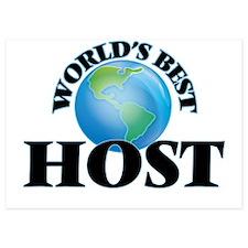 World's Best Host Invitations
