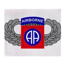 82nd Airborne Division Throw Blanket