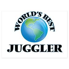 World's Best Juggler Invitations