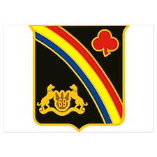 69th ID Crest Invitations