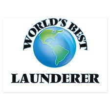 World's Best Launderer Invitations
