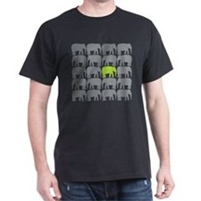 One Green Elephant in the Herd T-Shirt