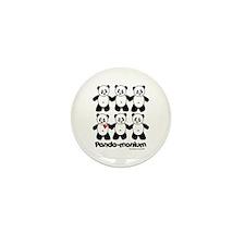 Panda-monium Mini Button (10 pack)
