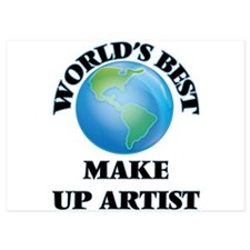 World's Best Make Up Artist Invitations