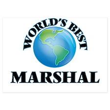 World's Best Marshal Invitations