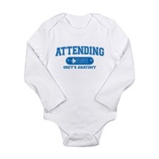 Grey's Anatomy Attending Long Sleeve Infant Bodysu