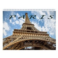 Fun In Paris Wall Calendar