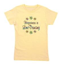Happiness is Line Dancing Girl's Tee