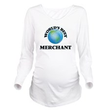 World's Best Merchan Long Sleeve Maternity T-Shirt