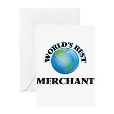 World's Best Merchant Greeting Cards
