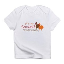 Cute Thanksgiving turkey Infant T-Shirt