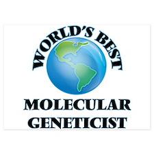 World's Best Molecular Geneticist Invitations