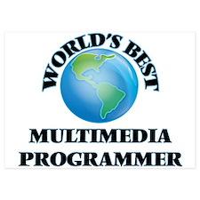 World's Best Multimedia Programmer Invitations