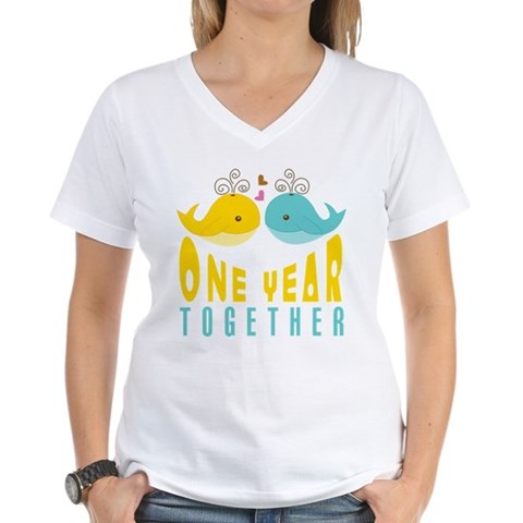 1st Anniversary Gift For Her T-Shirt