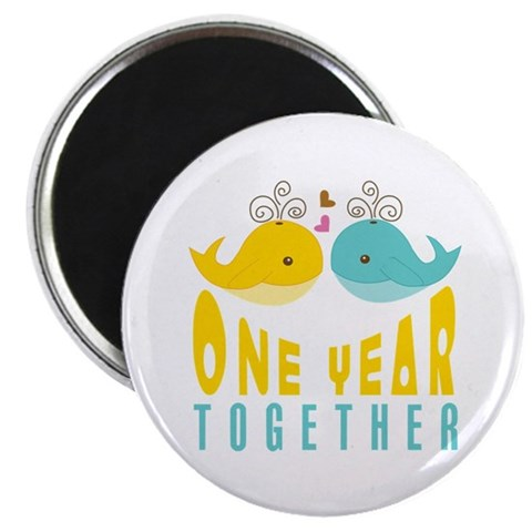 1st Anniversary Gift For Her Magnet