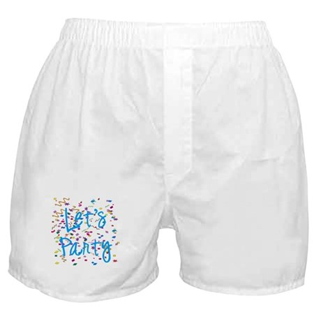 Let's Party Boxer Shorts