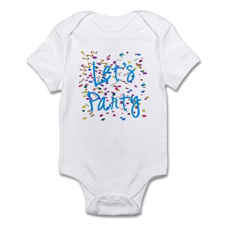 Let's Party Infant Bodysuit