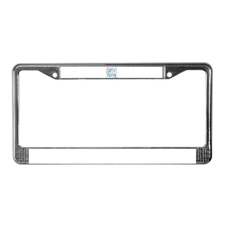 Let's Party License Plate Frame