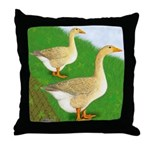 Goose and Gander Throw Pillow