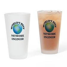 World's Best Network Engineer Drinking Glass