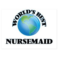 World's Best Nursemaid Invitations