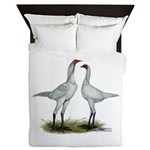 Modern Game Bantams Queen Duvet