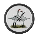 Modern Game Bantams Large Wall Clock