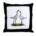 Modern Game Bantams Throw Pillow