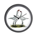 Modern Game Bantams Wall Clock