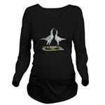 Modern Game Bantams Long Sleeve Maternity T-Shirt