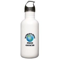 World's Best Press Off Water Bottle