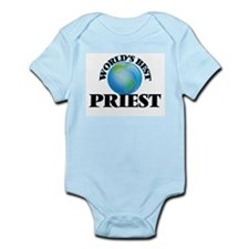 World's Best Priest Body Suit