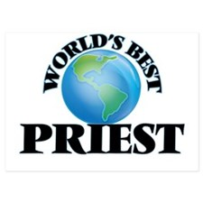 World's Best Priest Invitations