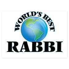 World's Best Rabbi Invitations