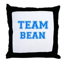 TEAM BERGER Throw Pillow