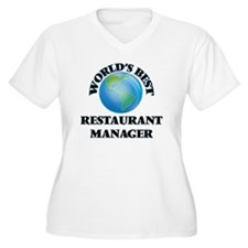 World's Best Restaurant Manager Plus Size T-Shirt