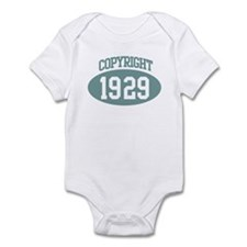 Copyright 1929 Infant Bodysuit