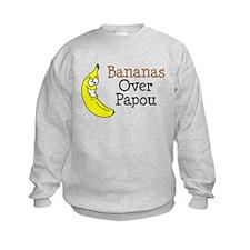 Bananas Over Papou Sweatshirt