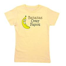 Bananas Over Papou Girl's Tee