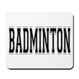 Badminton Mousepad