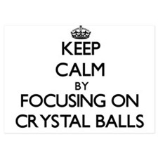Keep Calm by focusing on Crystal Balls Invitations